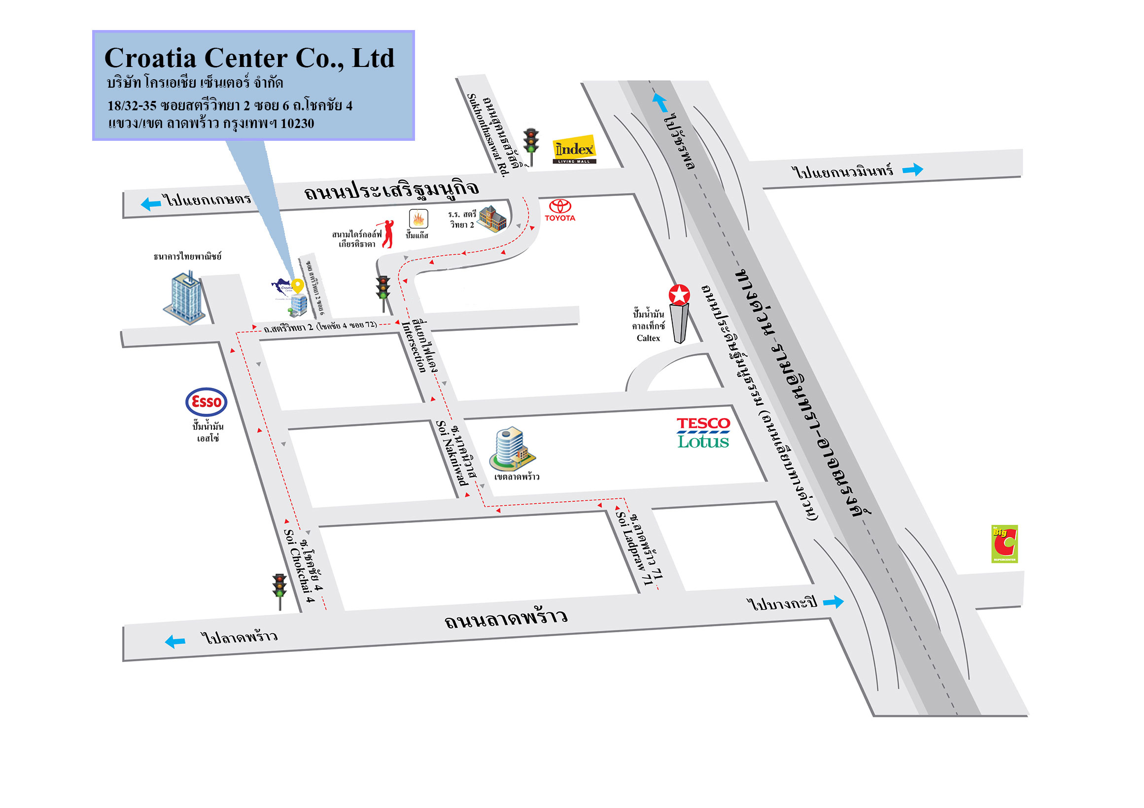 contact us map